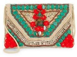 Braided Cotton Shoulder Bag