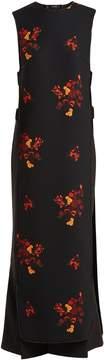 Ellery Judy floral-print cut-out dress