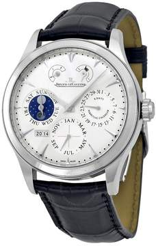 Jaeger-LeCoultre Jaeger Lecoultre Master Eight Days Perpetual Calendar Stainless Steel Men's Watch