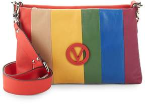 Mario Valentino Valentino by Women's Rainbow Leather Crossbody Bag