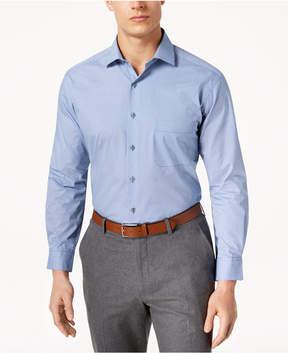 Alfani Men's Classic/Regular Fit Double Dot Print Dress Shirt, Created for Macy's