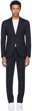 DSQUARED2 Navy Wool Paris Suit