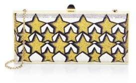 Judith Leiber Couture Stars Crystal Clutch