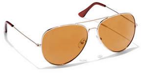 New York & Co. Mirrored Aviator Sunglasses