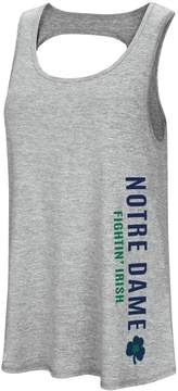 Colosseum Women's Notre Dame Fighting Irish Twisted Back Tank Top
