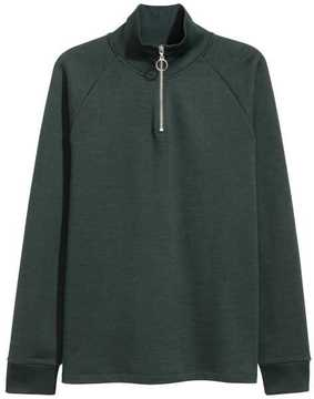 H&M Shirt with Stand-up Collar