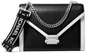MICHAEL Michael Kors Whitney Large Leather Crossbody Bag