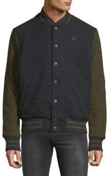 Hudson Colorblock Varsity Jacket