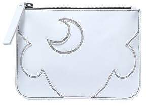 McQ Embroidered Leather Pouch