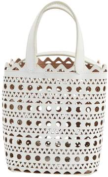 Alaia White Leather Handbag
