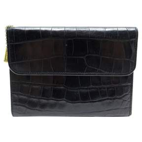 Lancel Black Crocodile Wallets