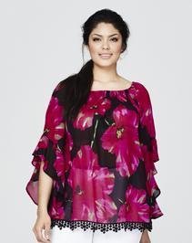 AX Paris Floral Gypsy Blouse