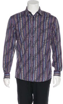 Missoni Embroidered Striped Shirt