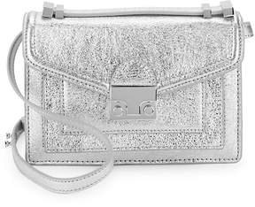Loeffler Randall Women's Mini Ride Metallic Crossbody Bag