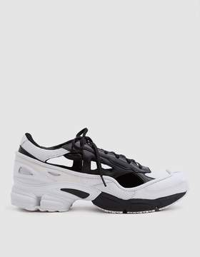 Raf Simons Adidas X RS Replicant Ozweego Sneaker in Black/Cream/White