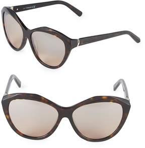 Swarovski Women's 54MM Crystal Cat-Eye Sunglasses