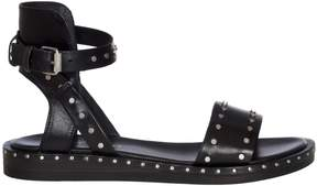Janet & Janet Studs Leather Sandals