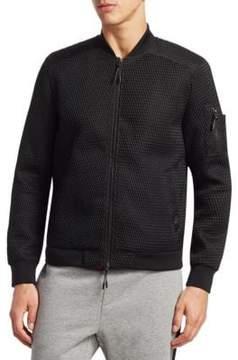 Saks Fifth Avenue x Anthony Davis Slim-Fit Textured Bomber Jacket