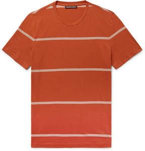 Michael Kors Slim-Fit Striped Pima Cotton T-Shirt