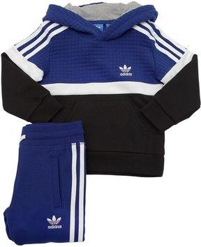 adidas Color Block Sweatshirt & Sweatpants