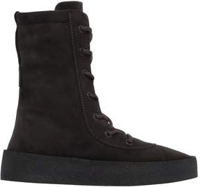 Yeezy Suede Lace Up Boots