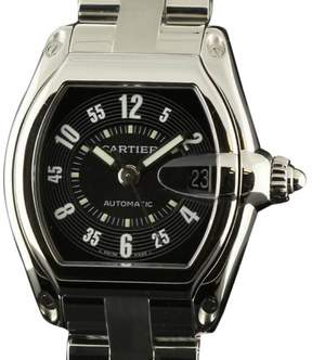 Cartier Roadster W62004V3 Large Automatic Steel Black & White Watch
