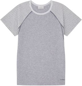 La Perla Stripe Sleeve Jersey T-Shirt