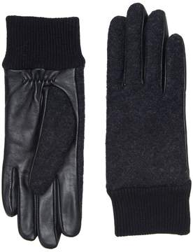UGG Fabric Smart Gloves with Knit Trim Extreme Cold Weather Gloves