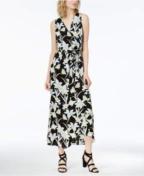 Bar III Printed Wrap Maxi Dress, Created for Macy's
