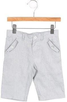 Tartine et Chocolat Boys' Linen Bermuda Shorts w/ Tags