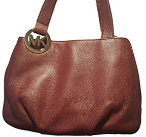 Michael Kors Fulton Large Extra Wide Leather Tote Merlot 38S1YFTTL3 - ONE COLOR - STYLE