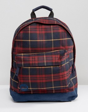 Mi-Pac Mi Pac Plaid Backpack
