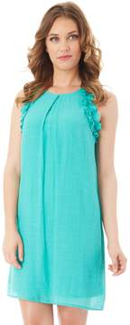 Apt. 9 Women's Ruffle Gauze Shift Dress