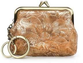 Patricia Nash Glitter Metallic Collection Large Borse Coin Case