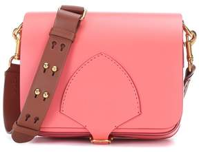 Burberry The Square leather satchel - PINK - STYLE