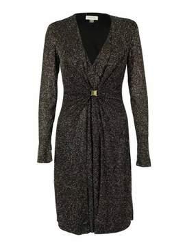 Calvin Klein Women's Metallic Glitter Dress