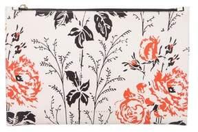 Victoria Beckham Floral Simple Pouch