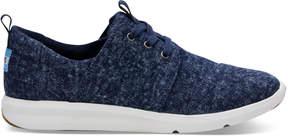 Toms Navy Washed Denim Women's Del Rey Sneakers