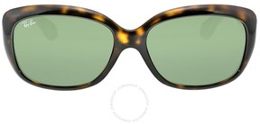 Ray-Ban Jackie OHH Shiny Havana 58mm Sunglasses
