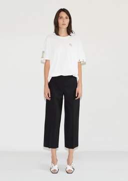 Aalto Wool Cropped Trouser Black Size: FR 40