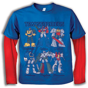 Freeze Transformers Layered Top - Toddler