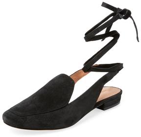 Sigerson Morrison Women's Bena Ankle-Wrap Loafer