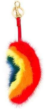 Anya Hindmarch rainbow bag charm
