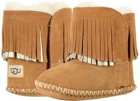 UGG Branyon Fringe Girls Shoes