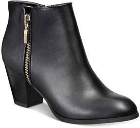 Style&Co. Style & Co Jamila Zip Booties, Created for Macy's Women's Shoes
