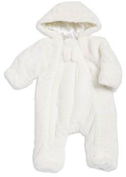 Little Me Baby Girl's Faux Fur Pram