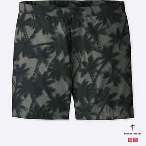 Uniqlo Men's Printed Swim Shorts