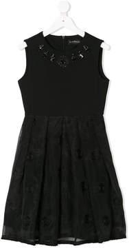 John Richmond Kids embellished sleeveless dress