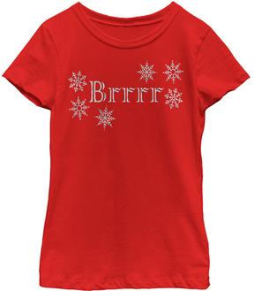 Fifth Sun Red 'Brrrr' Tee - Girls