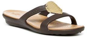 Crocs Sanrah Circle Wedge Sandal